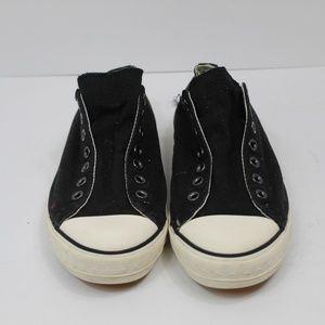 Converse X John Varvatos Black Slip Ons Size 10.5